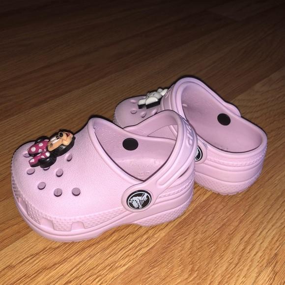 CROCS Shoes | Baby Girl Pink Crocs